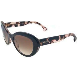 Prada PR15QS-ROL0A6 Women's Brown Frame Sunglasses